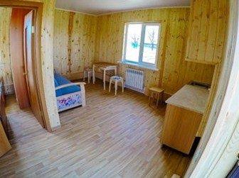 База отдыха «Наша Фазенда» Астраханская область Домик в деревне, фото 1