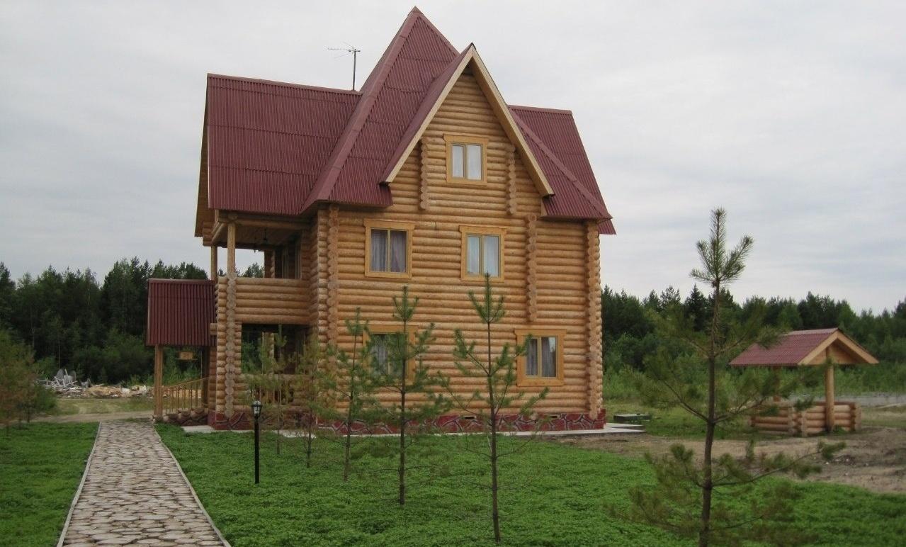 База отдыха «Лукоморье» Архангельская область Коттедж на две семьи, фото 1