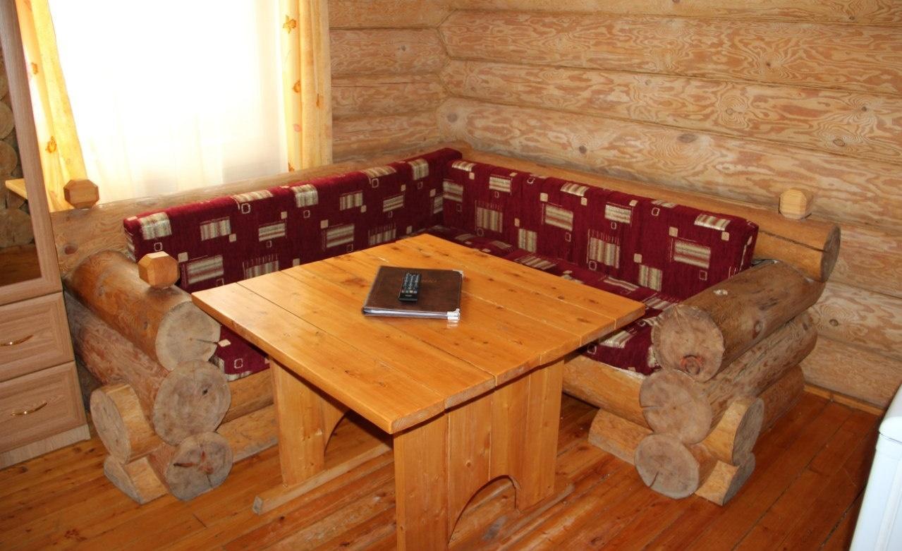 База отдыха «Лукоморье» Архангельская область Номер «Люкс» 2-местный двухкомнатный, фото 2