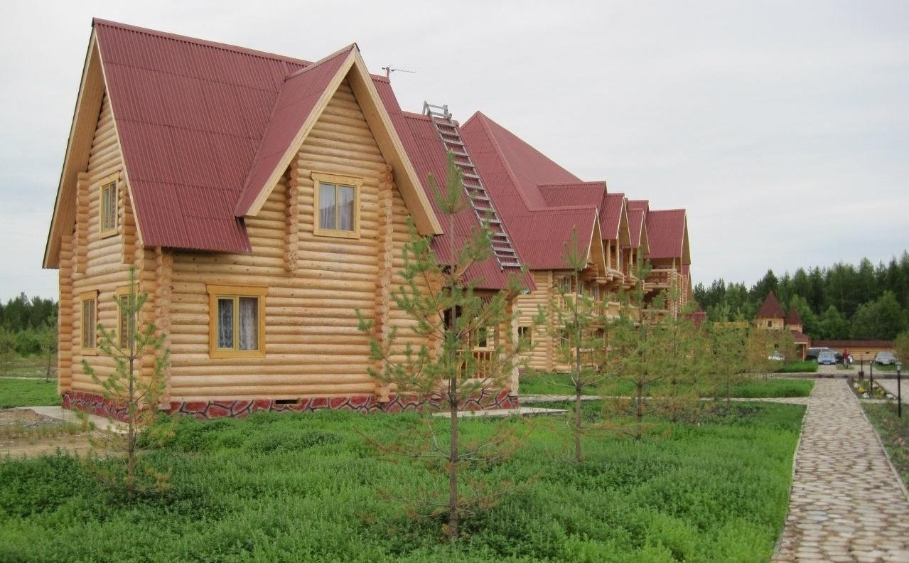 База отдыха «Лукоморье» Архангельская область Коттедж на одну семью, фото 1
