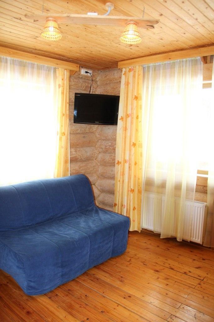 База отдыха «Лукоморье» Архангельская область Номер «Люкс» 2-местный двухкомнатный, фото 5