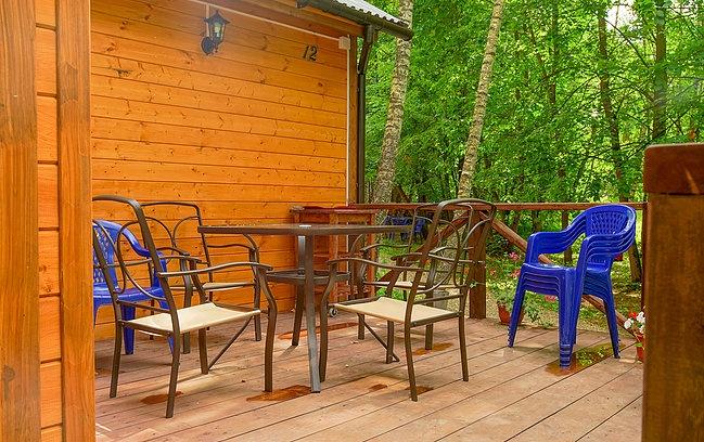 База отдыха «Ново Поле» Тульская область Большой гостевой дом с 4 спальнями, фото 12