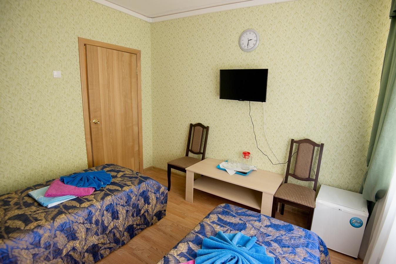 Санаторий «Звенигородский» Московская область Однокомнатный двухместный номер, фото 2