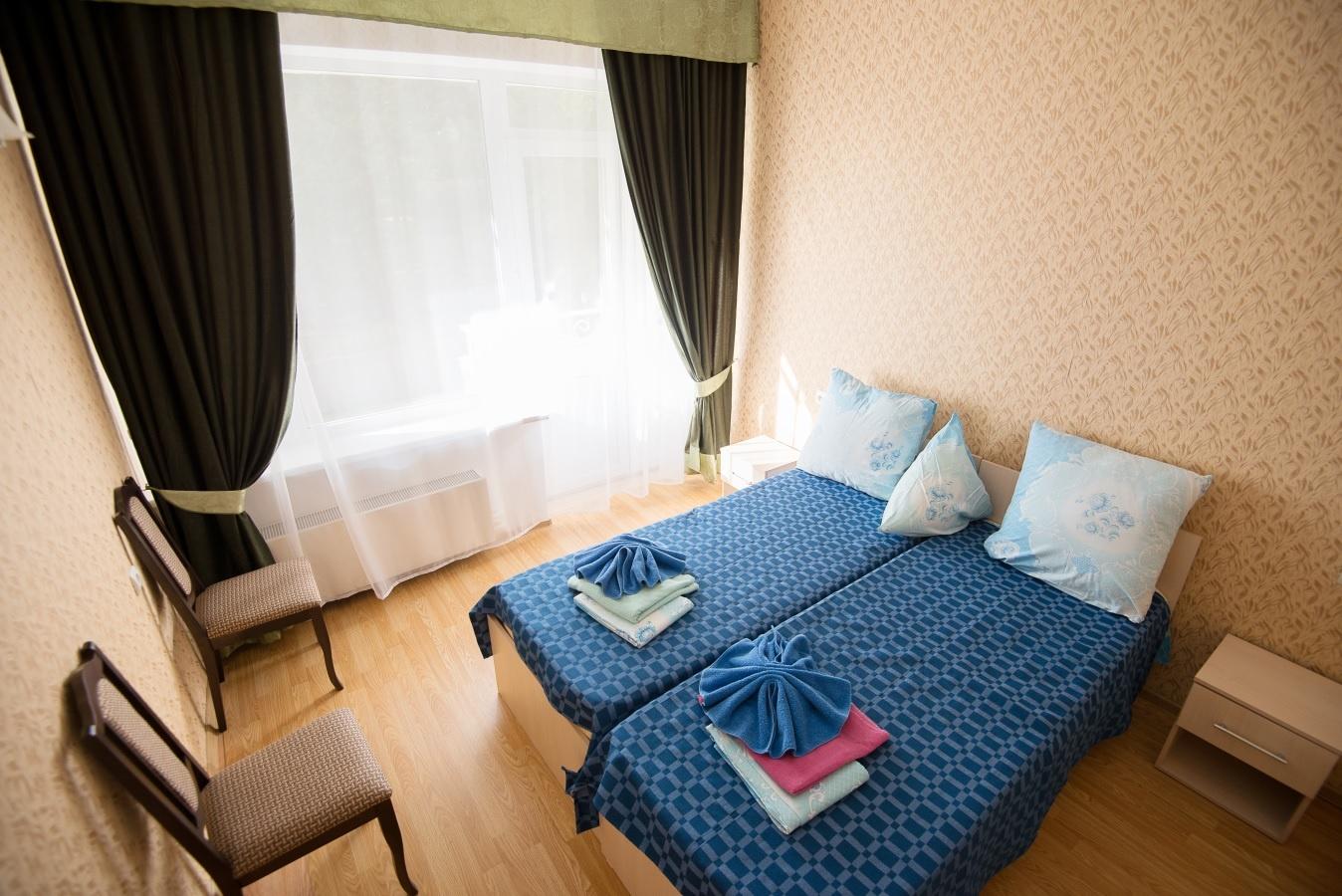 Санаторий «Звенигородский» Московская область Однокомнатный двухместный номер, фото 3