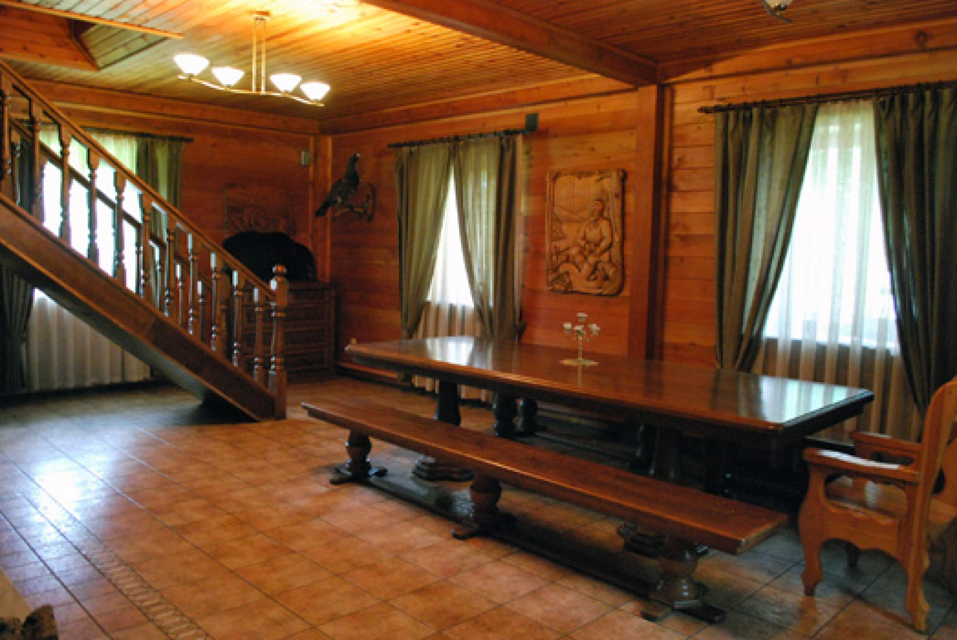 """База отдыха """"Пасека"""" Кемеровская область VIP дом, фото 2"""