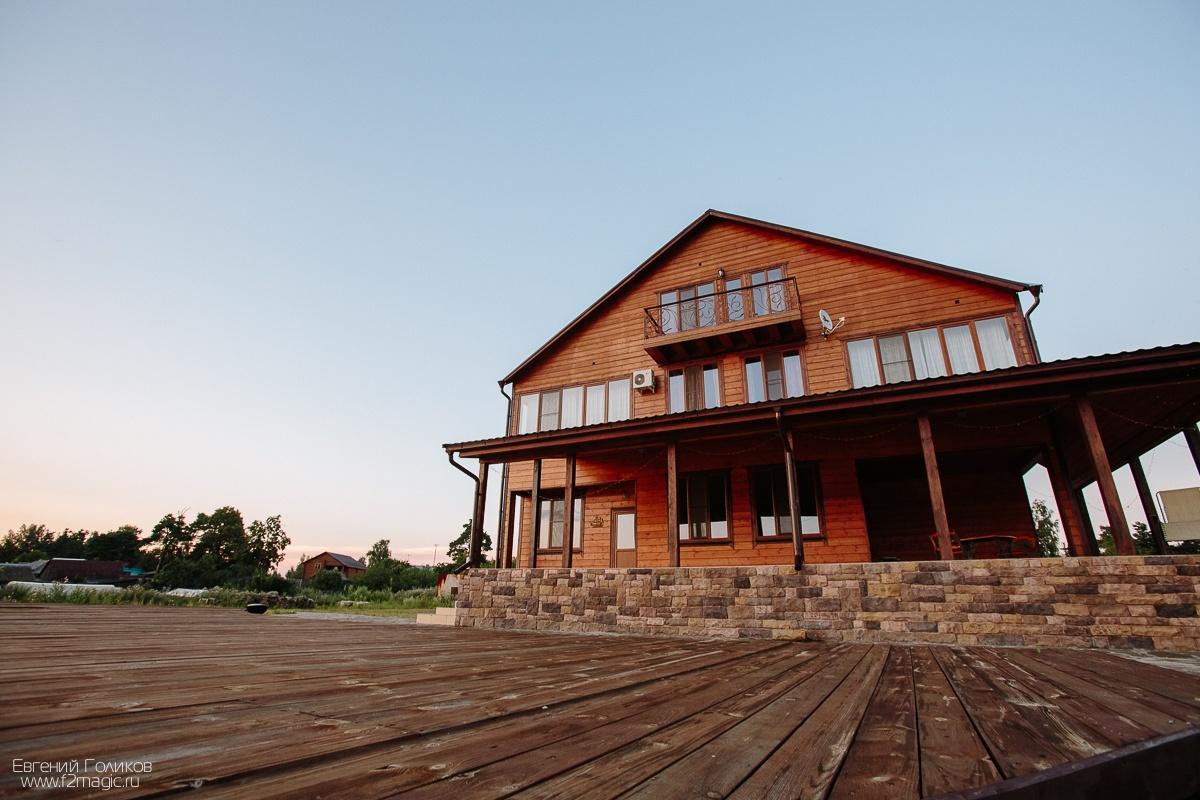 База отдыха «Полушкино» Рязанская область Гостевой VIP-дом, фото 1