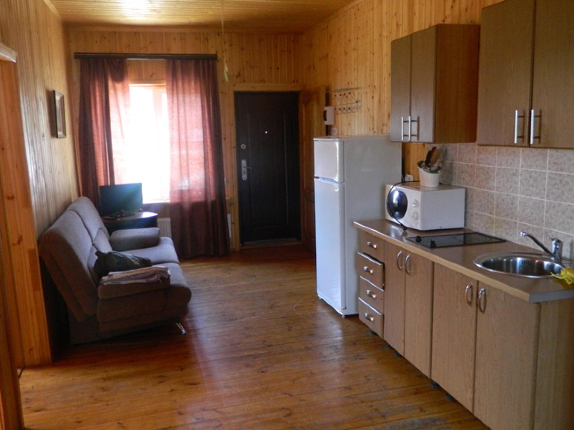 База отдыха «Полушкино» Рязанская область 6-местный номер в коттеджном комплексе «Приозерный» (2 спальни), фото 2