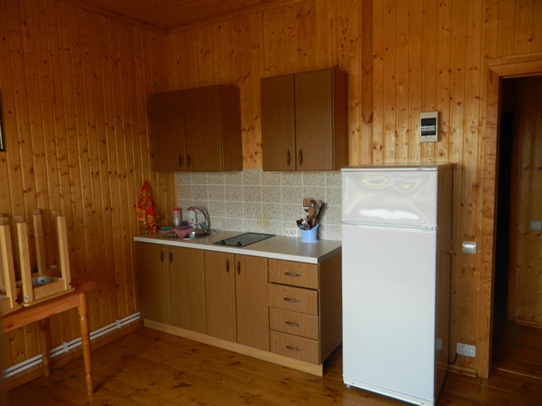 База отдыха «Полушкино» Рязанская область 5-местный номер в коттеджном комплексе «Приозерный» (1 спальня), фото 5