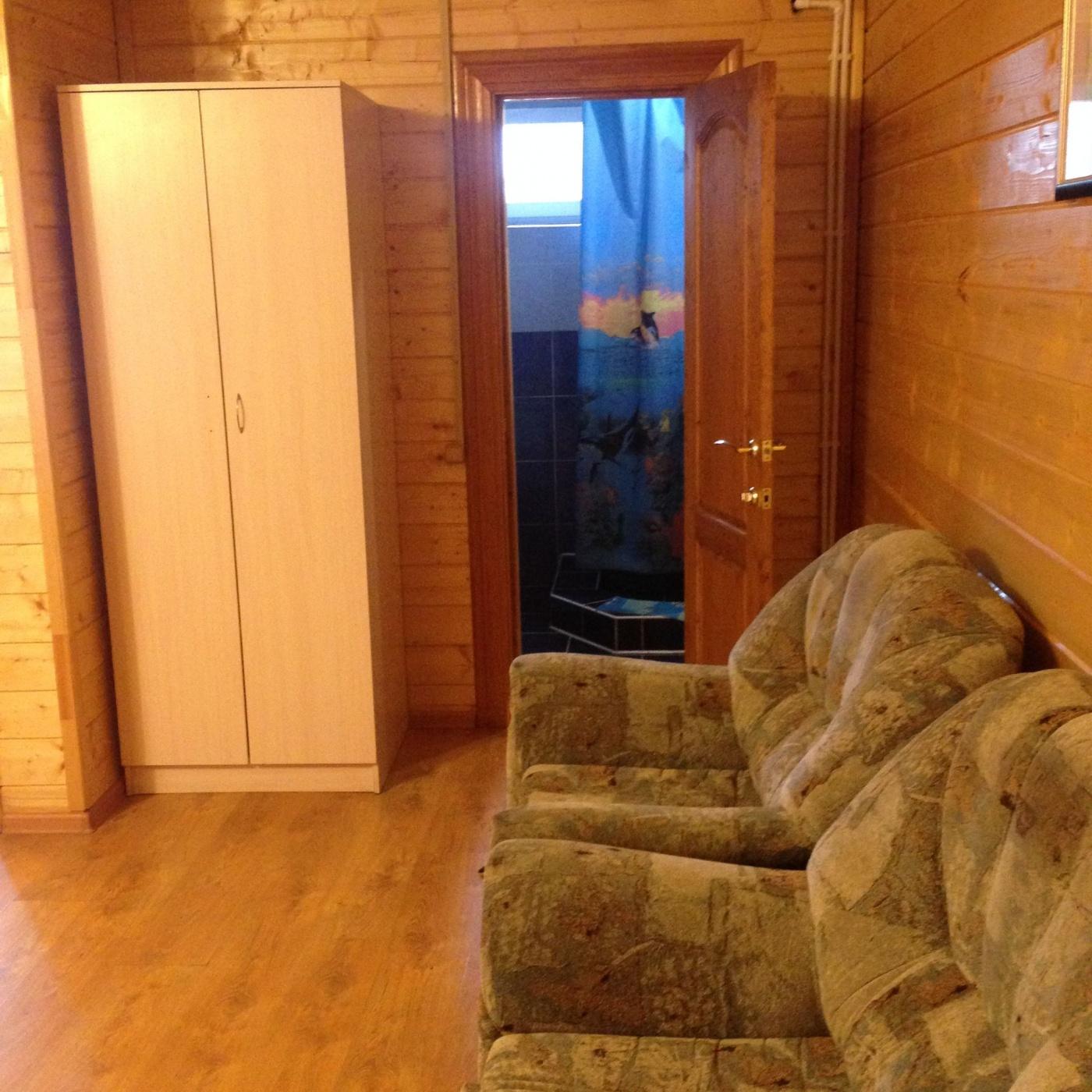 База отдыха «Полушкино» Рязанская область 5-местный номер в коттеджном комплексе «Приозерный» (1 спальня), фото 3