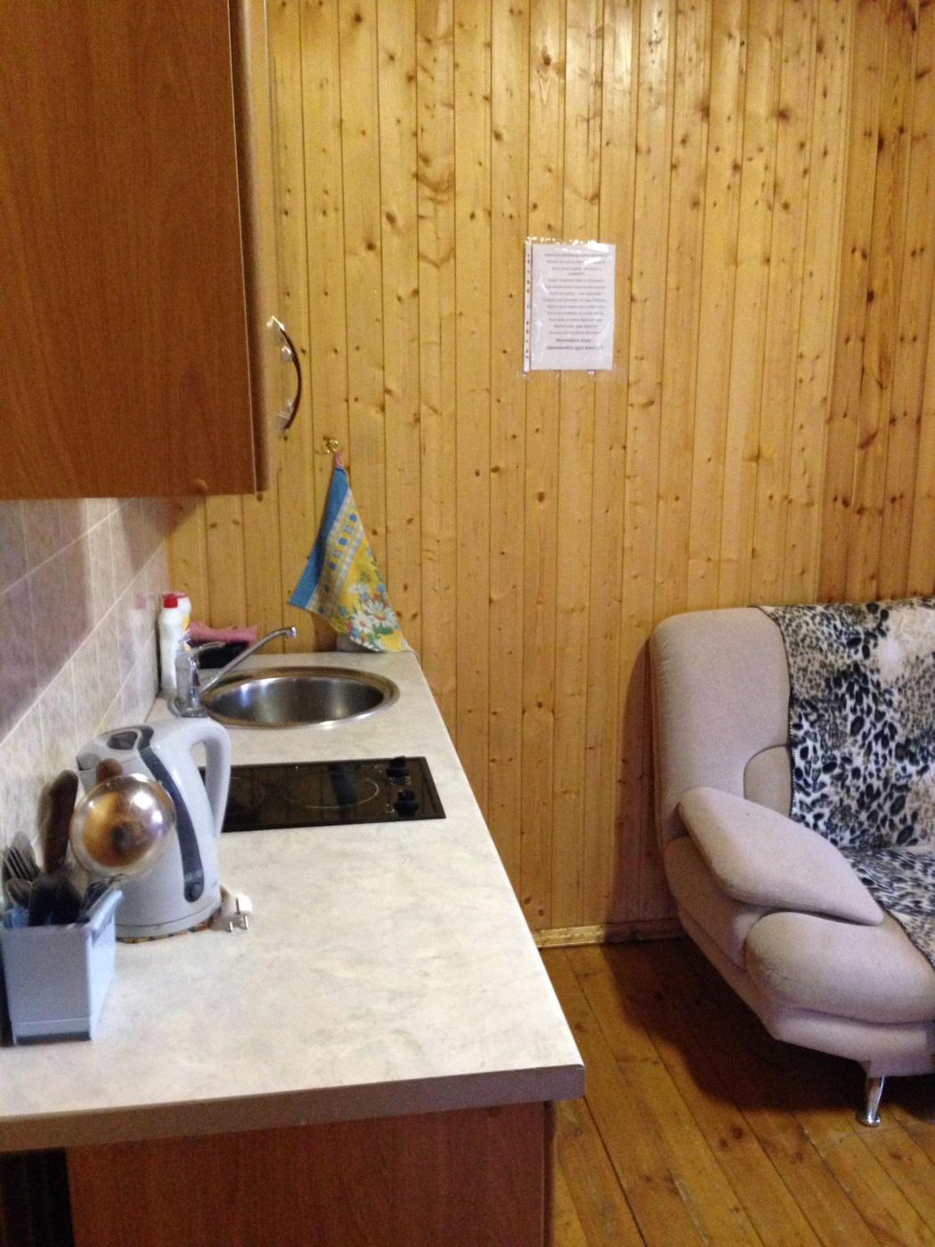 База отдыха «Полушкино» Рязанская область 5-местный номер в коттеджном комплексе «Приозерный» (1 спальня), фото 4