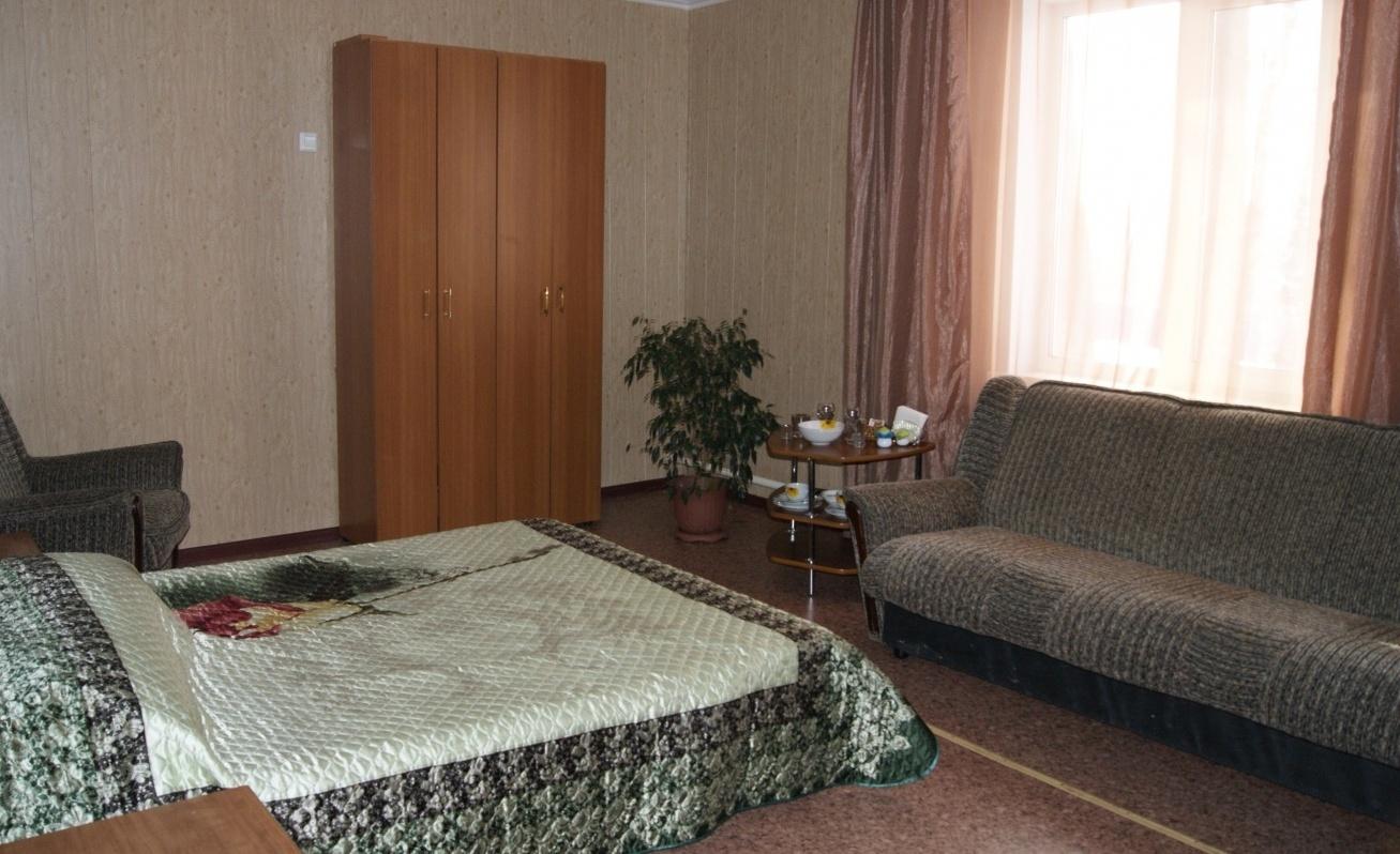Центр активного отдыха «Космос» Кемеровская область Номер «Люкс» 2-местный в корпусе №2, фото 2
