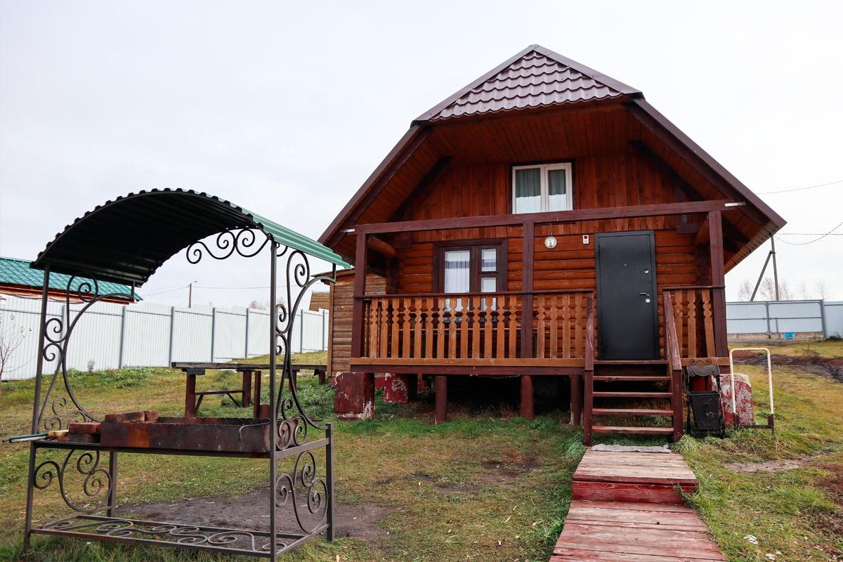 База отдыха «Белая гора» Пензенская область Домик VIP №1 (4-местный), фото 1