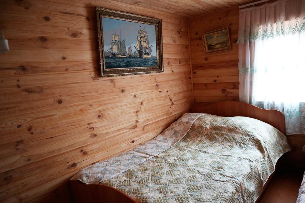 База отдыха «Белая гора» Пензенская область Домик №8 (6-местный, срубовой с мангалом);, фото 3