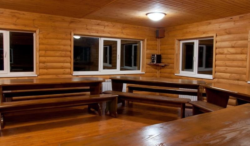 База отдыха «Кедровая заимка» Томская область Благоустроенный двухэтажный коттедж, фото 10