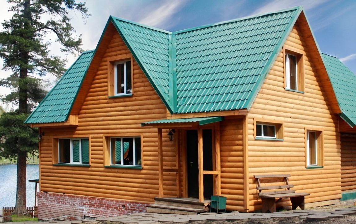 База отдыха «Кедровая заимка» Томская область Благоустроенный двухэтажный коттедж, фото 1