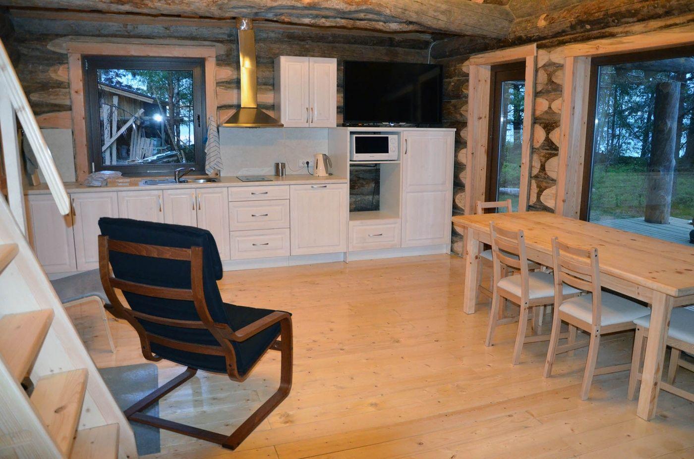 Комплекс гостевых домов «Karelia Village» Республика Карелия Коттедж «Ангенлахти-4», фото 6