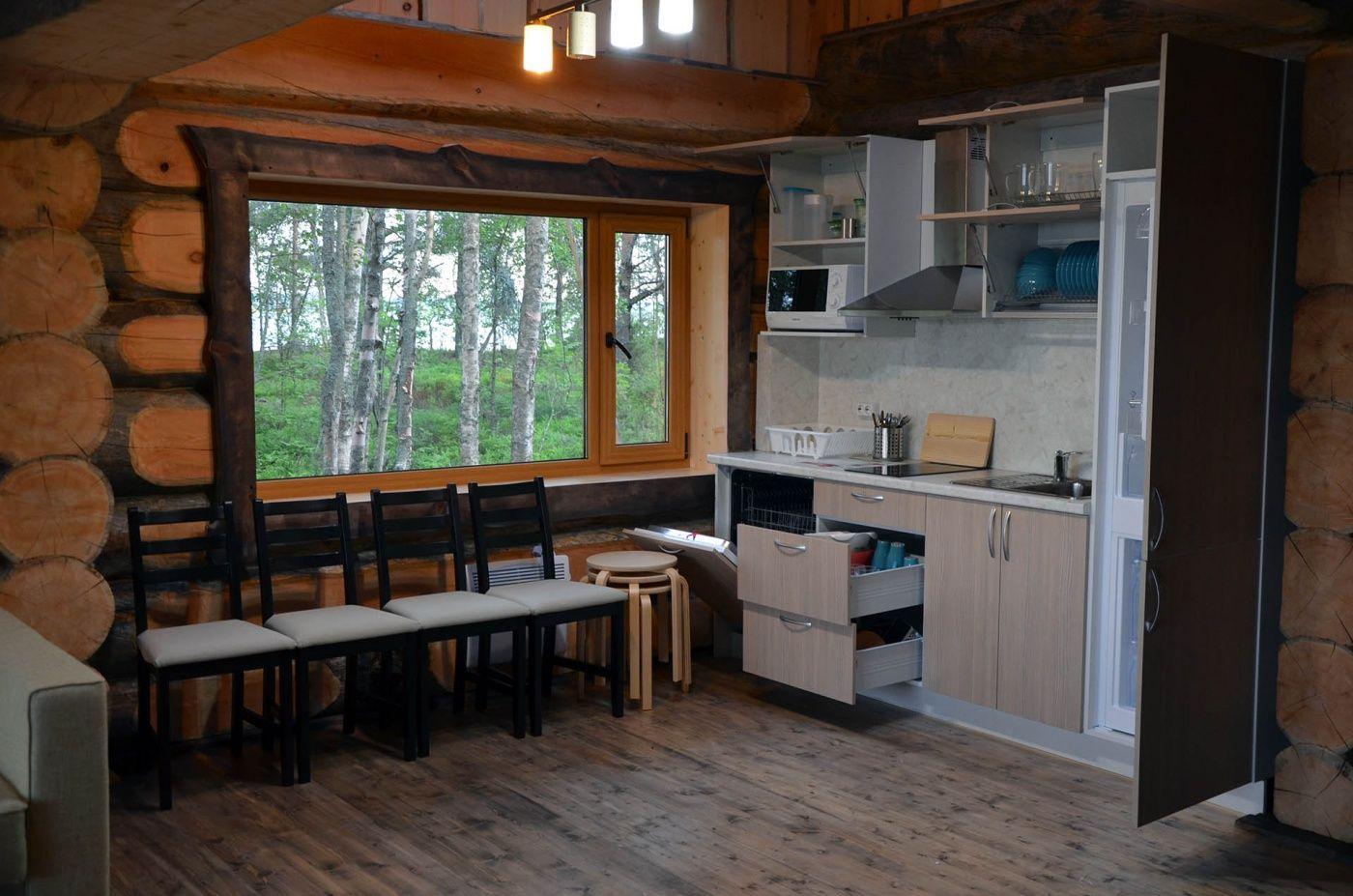 Комплекс гостевых домов «Karelia Village» Республика Карелия Коттедж «Ангенлахти-5», фото 10