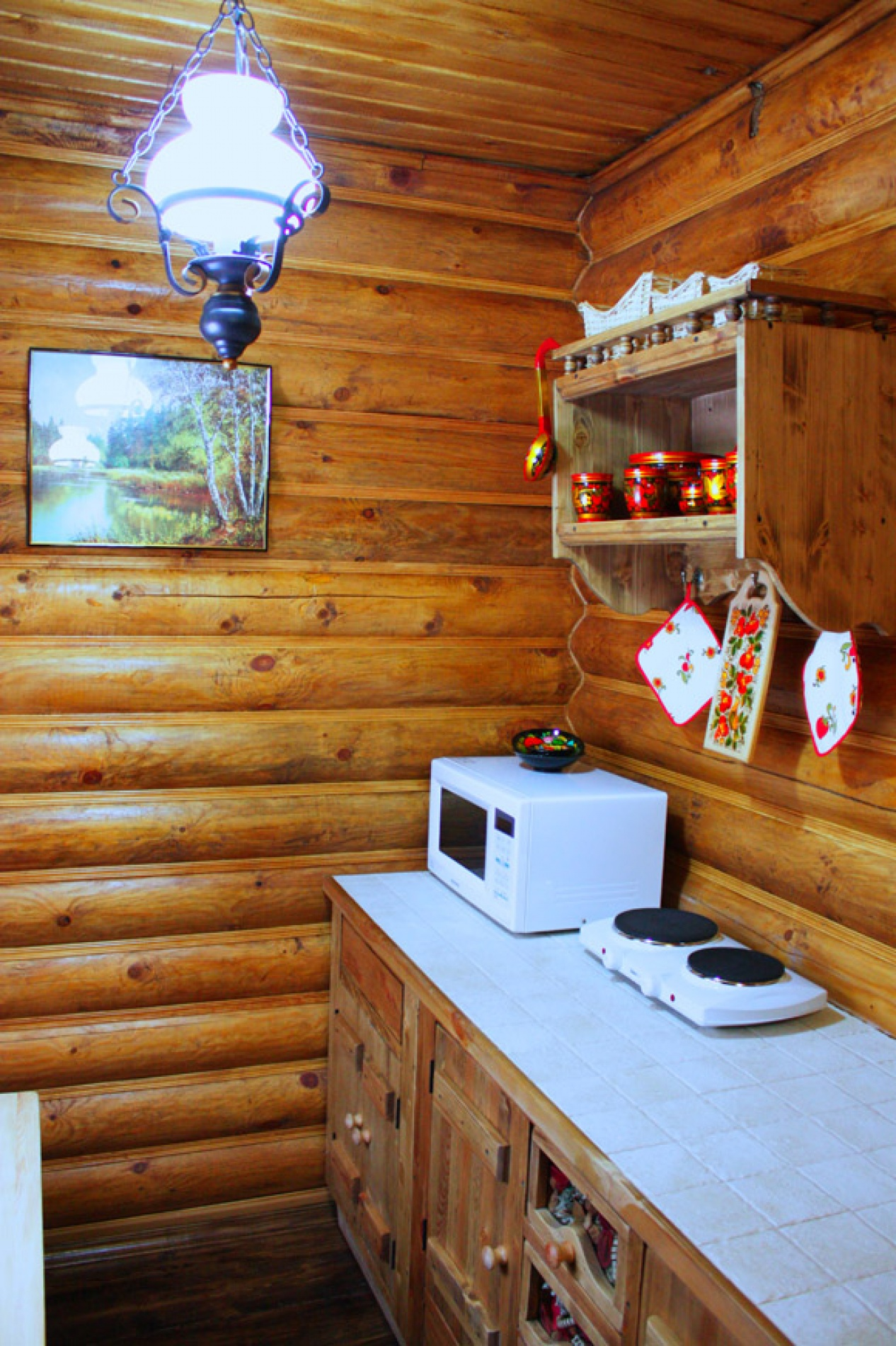 База отдыха «Барсучок» Тульская область VIP-домик 2-уровневый, фото 11
