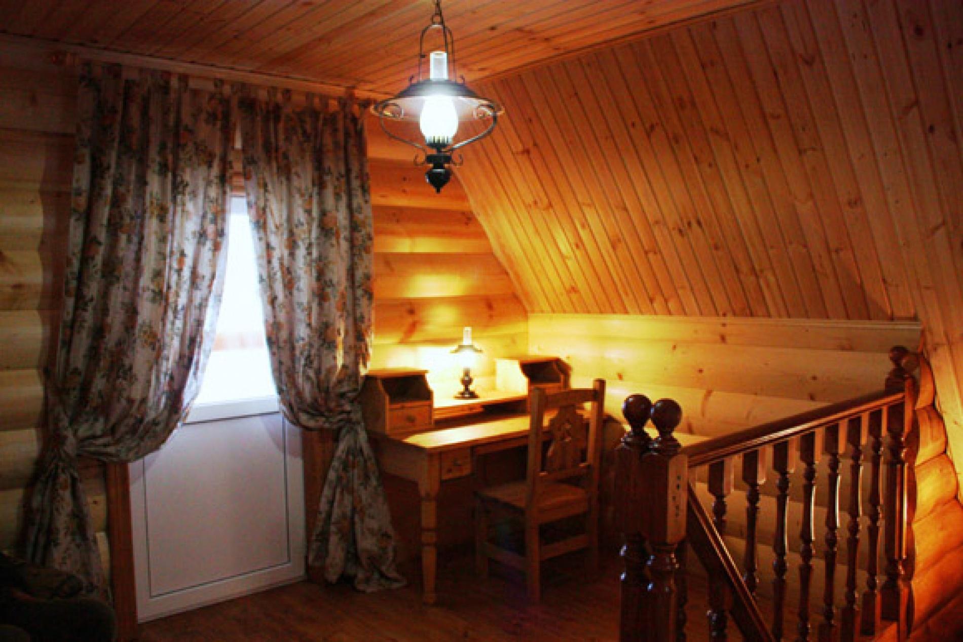 База отдыха «Барсучок» Тульская область VIP-домик 2-уровневый, фото 10