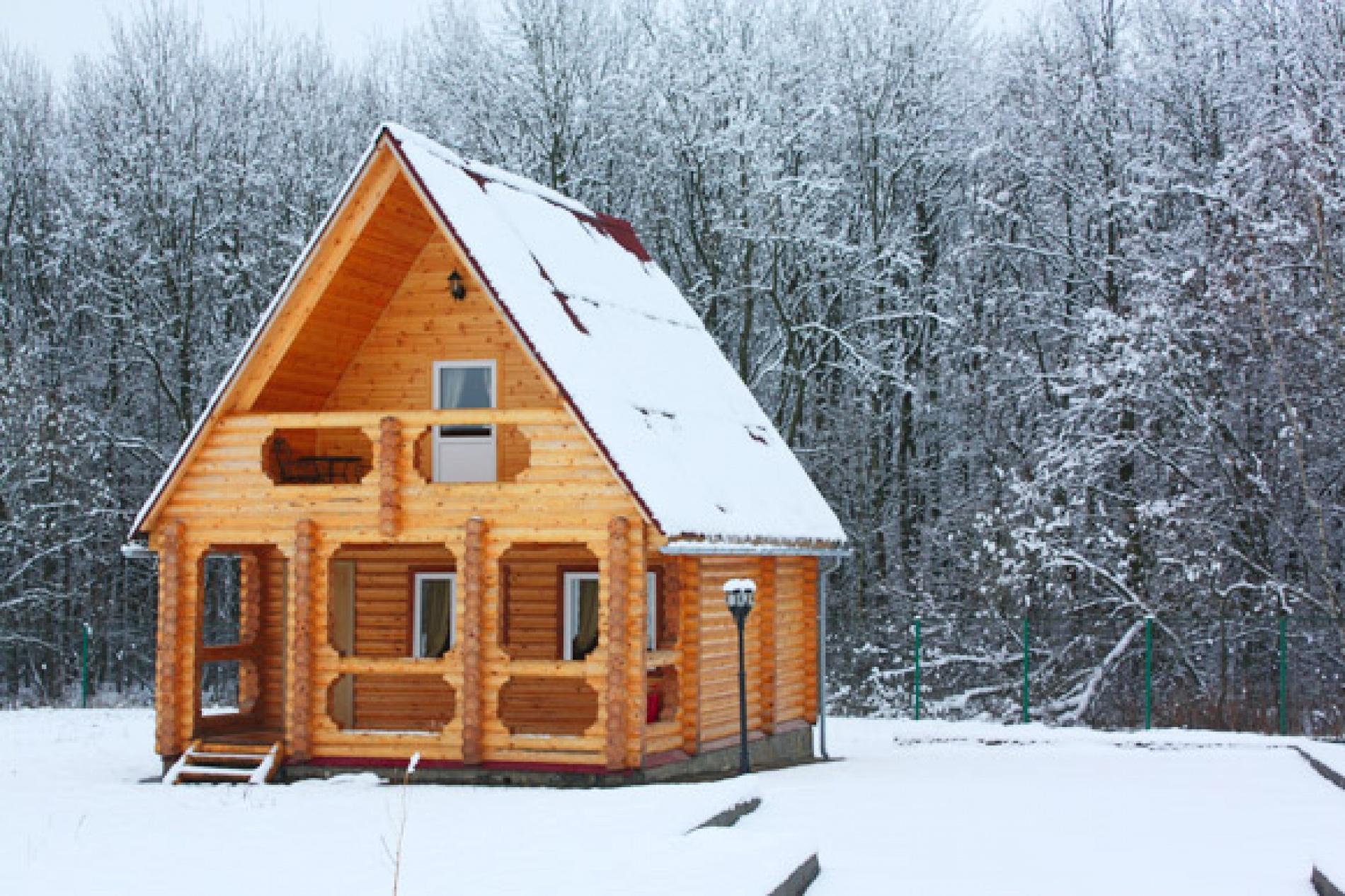 База отдыха «Барсучок» Тульская область VIP-домик 2-уровневый, фото 1