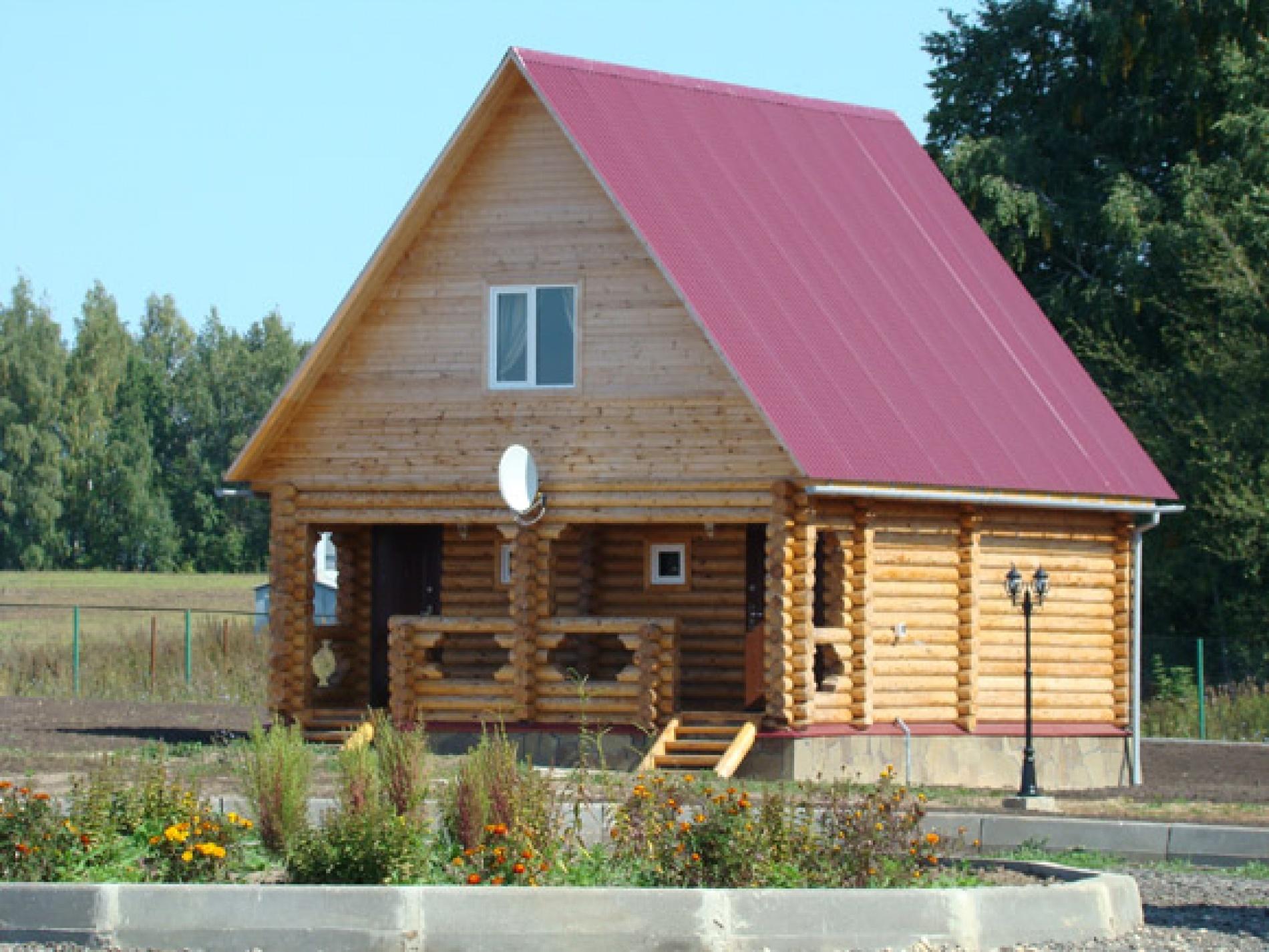 База отдыха «Барсучок» Тульская область 2-местный домик № 1б, 2б, 3б, 4б, фото 1