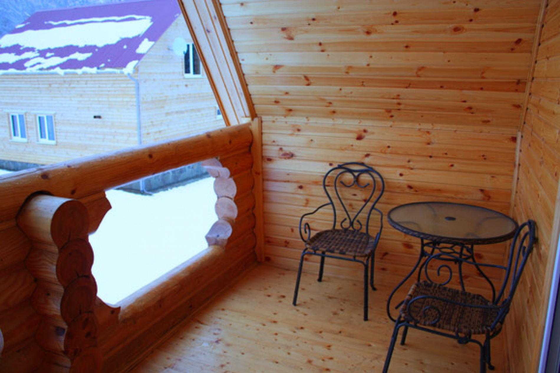 База отдыха «Барсучок» Тульская область VIP-домик 2-уровневый, фото 14