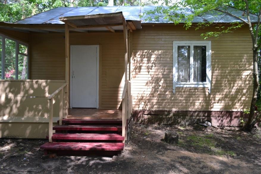 База отдыха «Окатур» Тульская область 2-местный летний домик № 15, фото 1