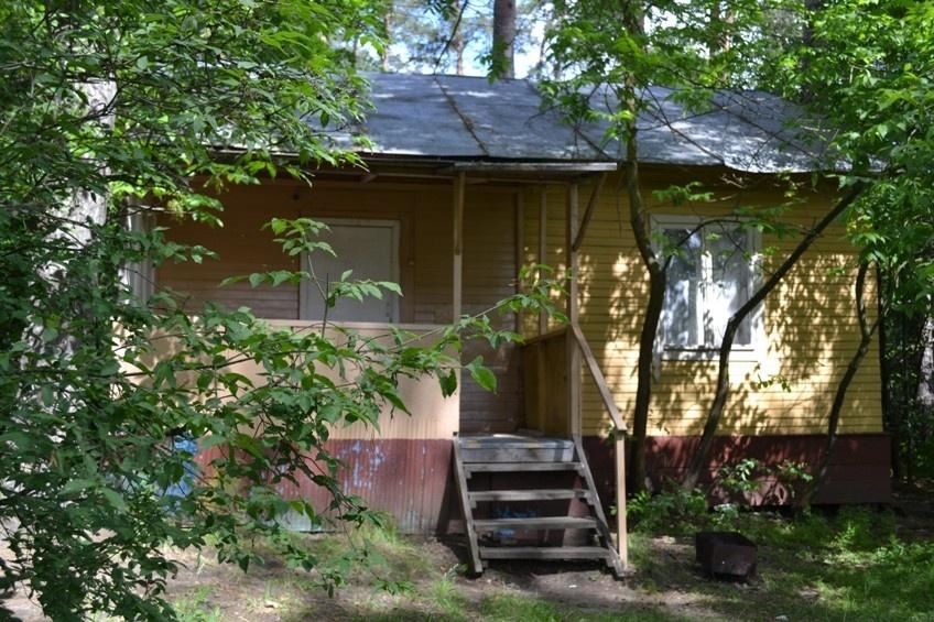 База отдыха «Окатур» Тульская область 2-местный летний домик № 14/2, фото 1