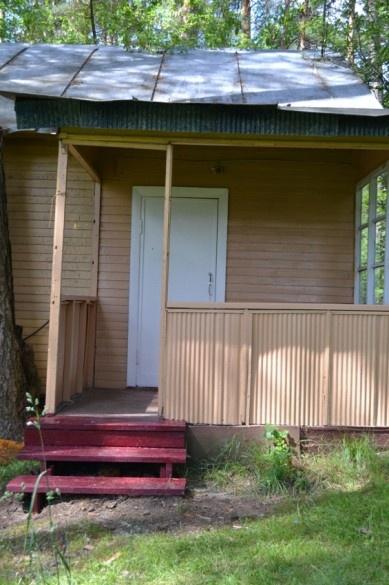 База отдыха «Окатур» Тульская область 2-местный летний домик № 17/1, фото 1