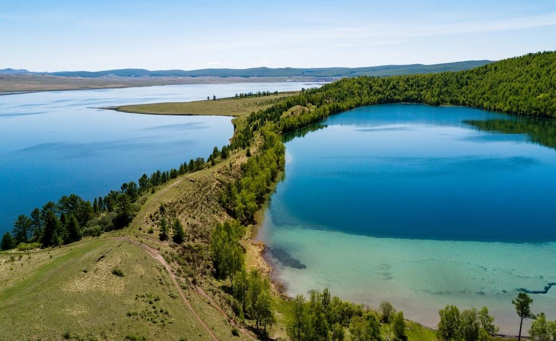 пляжи очень озеро большое красноярский край фото более