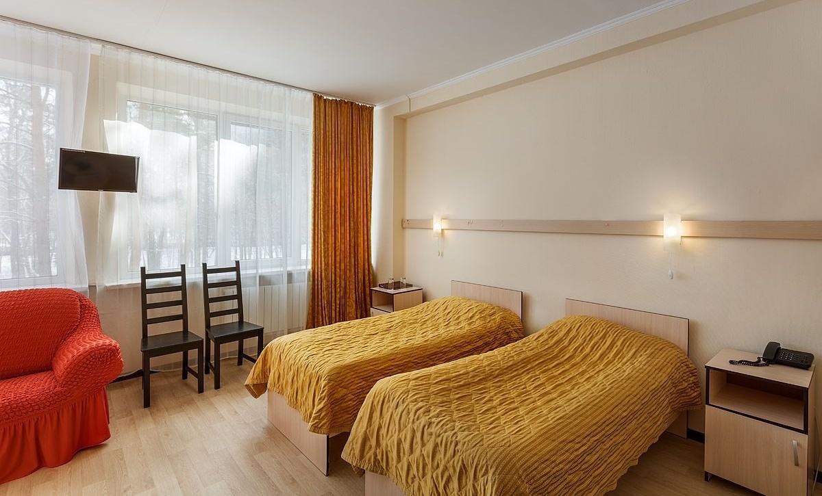 Оздоровительный комплекс «Devon Resort & Spa» Московская область Номер «Эконом» с двумя кроватями, фото 1