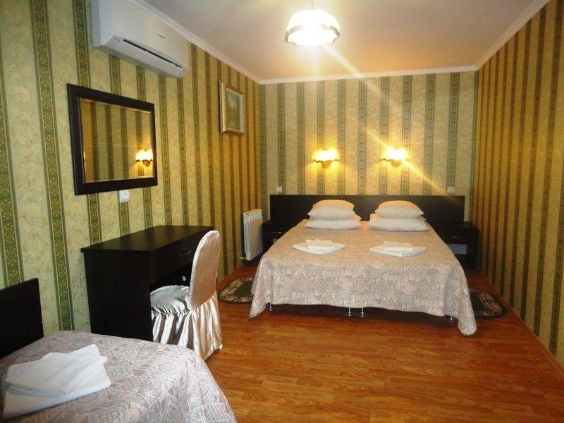 База отдыха «Крестьянское подворье» Краснодарский край Финский домик 3-местный 2-комнатный, фото 2