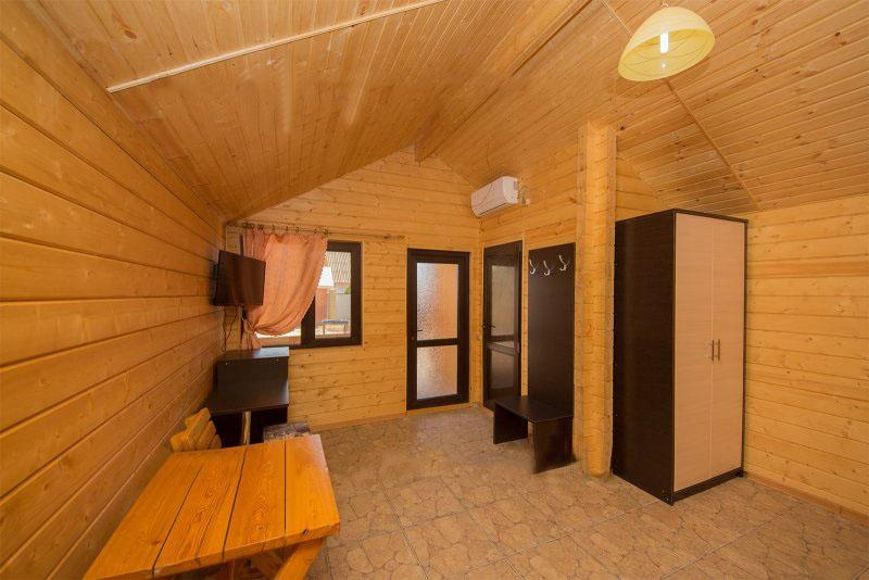 База отдыха «Русалочка» Краснодарский край Отдельные VIP деревянные коттеджи, фото 4