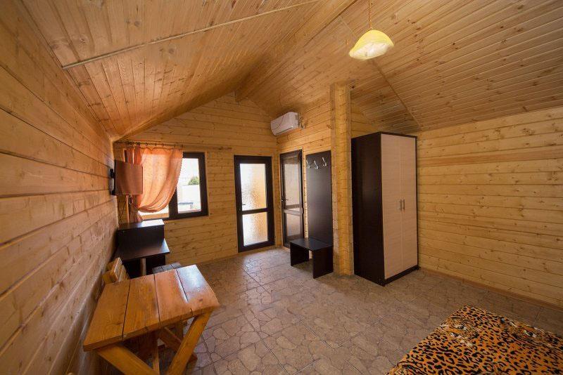 База отдыха «Русалочка» Краснодарский край Отдельные VIP деревянные коттеджи, фото 6