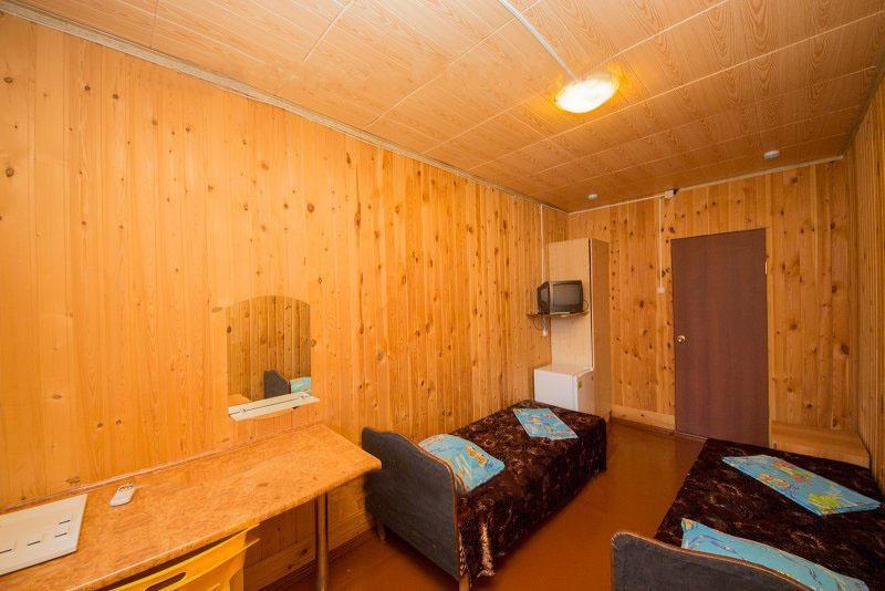 База отдыха «Русалочка» Краснодарский край Отдельный деревянный домик, фото 5