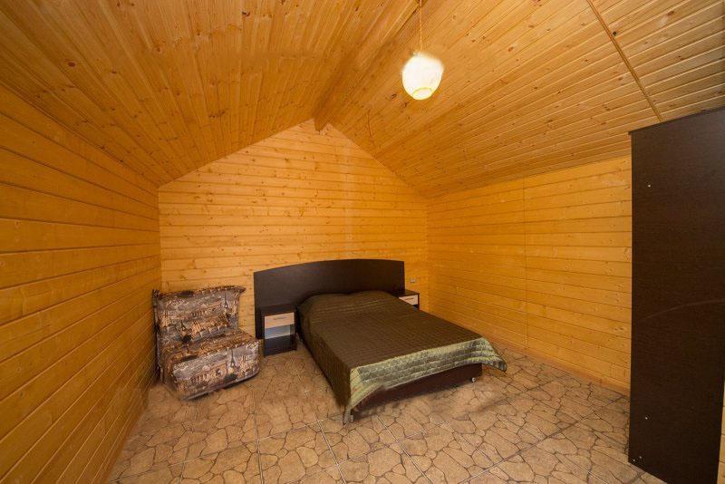 База отдыха «Русалочка» Краснодарский край Отдельные VIP деревянные коттеджи, фото 1