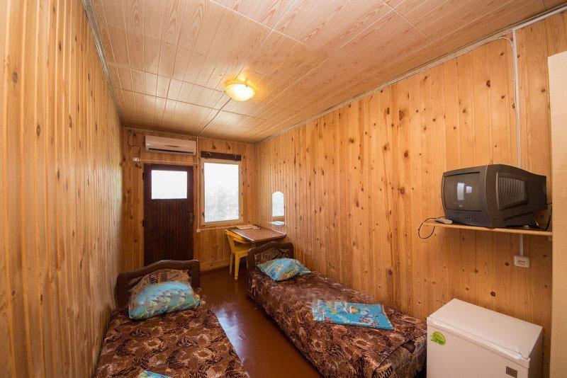 База отдыха «Русалочка» Краснодарский край Отдельный деревянный домик, фото 6