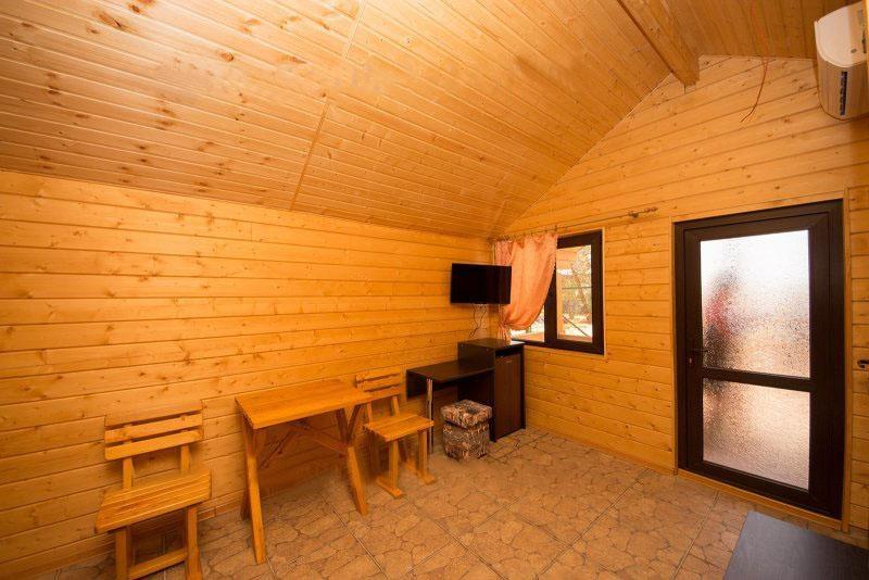 База отдыха «Русалочка» Краснодарский край Отдельные VIP деревянные коттеджи, фото 8
