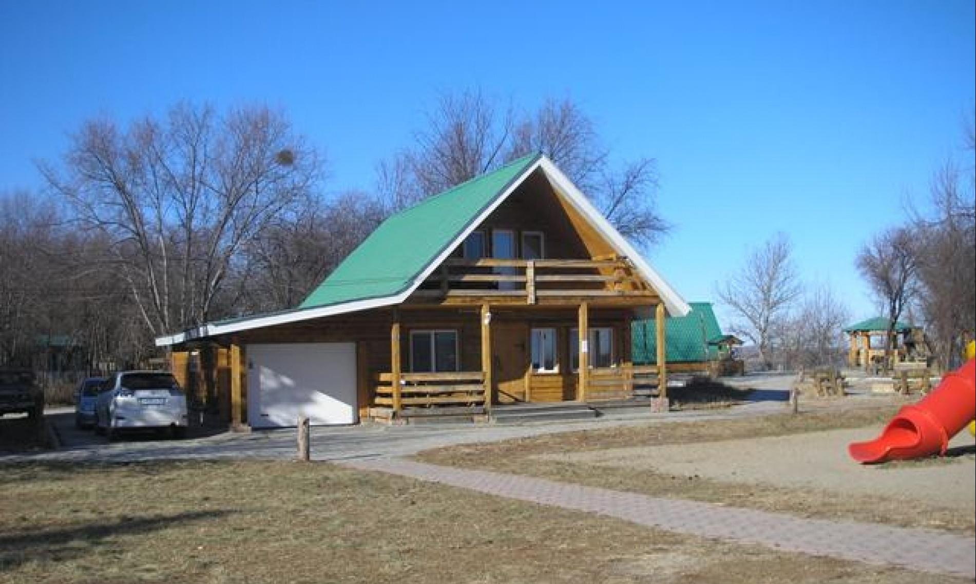 База отдыха «Зеленая» Амурская область Коттедж 8-местный, фото 1
