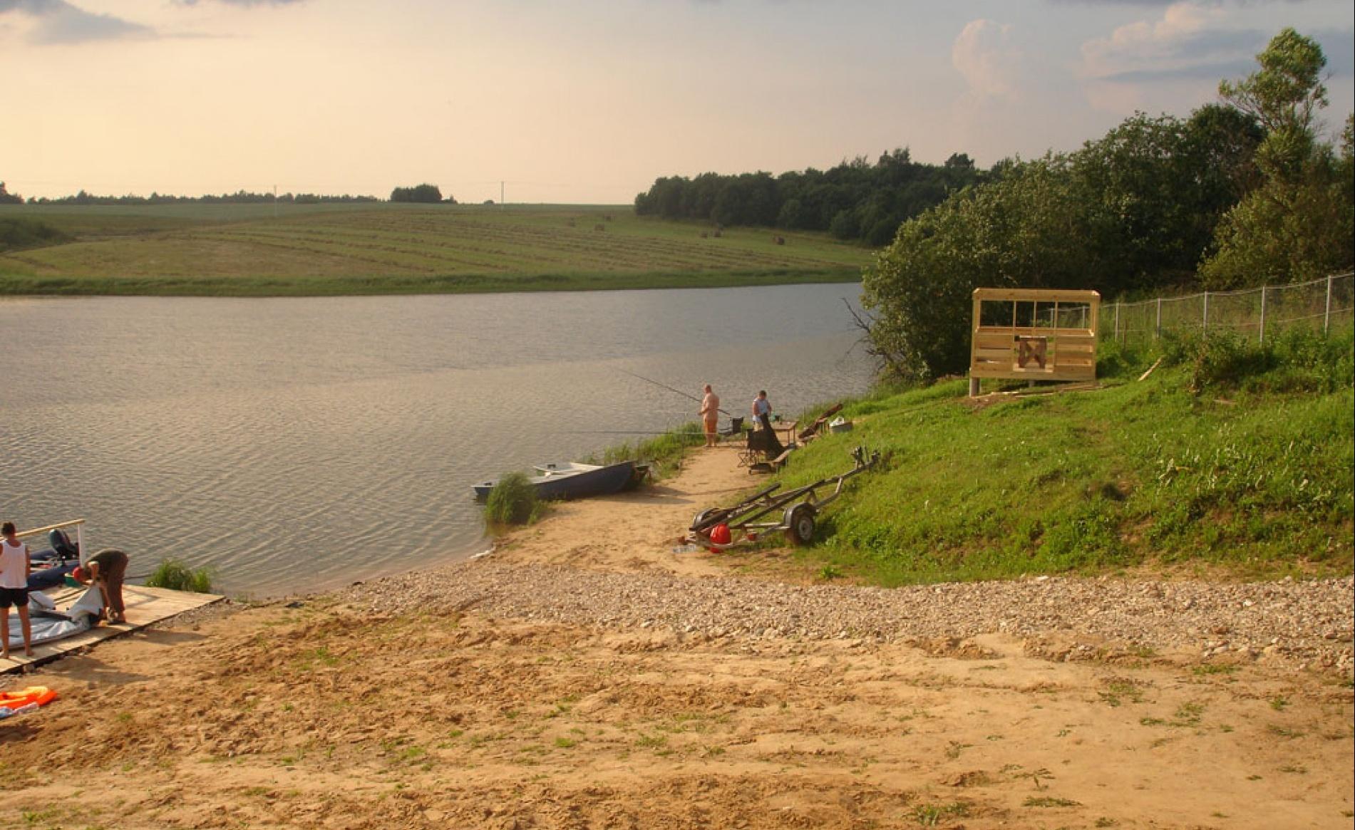 """Рыболовно-охотничья база """"Хлепень"""" Смоленская область, фото 2"""