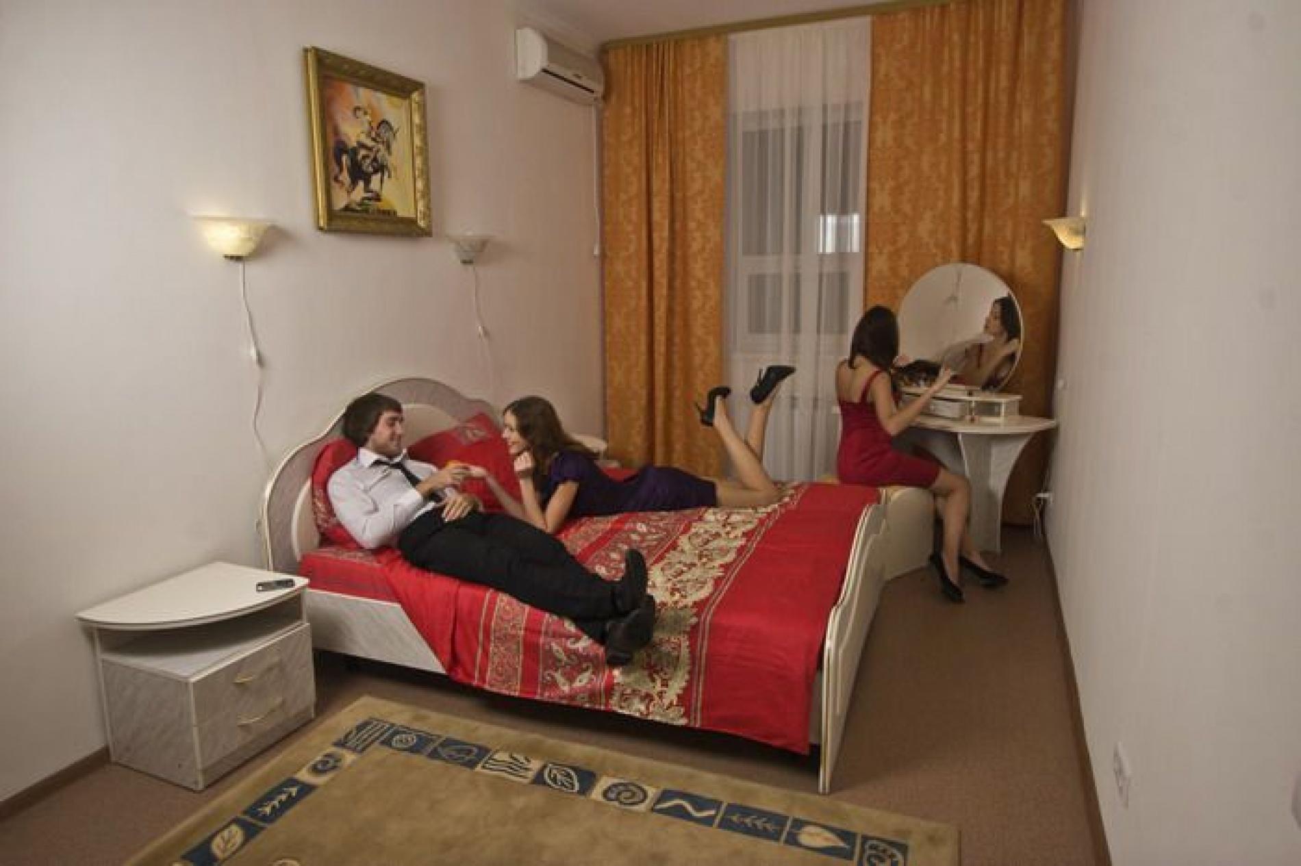 """База отдыха """"Верхний Бор"""" Тюменская область СПА-отель """"Источник"""" номер 2-местный стандарт , фото 1"""