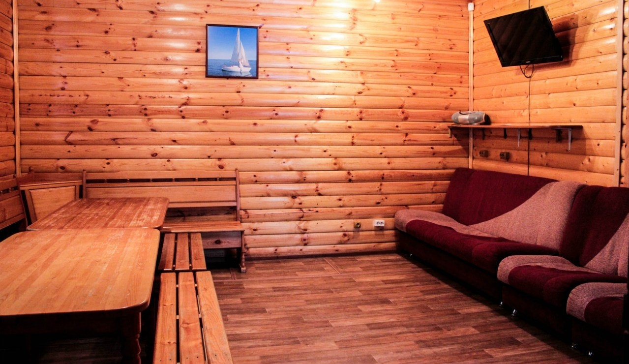 """База отдыха """"Яхт-клуб Рубин"""" Тюменская область Дом №17 (6 спальных мест) без сауны, фото 2"""