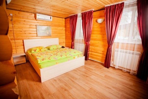 База отдыха «Акватория» Тюменская область 6-местный домик, фото 4