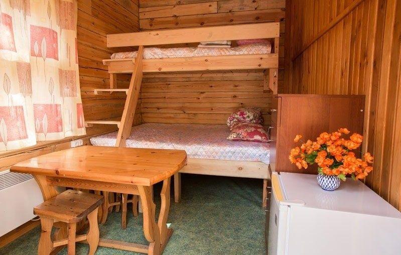 Культурно-оздоровительный центр «Радуга» Республика Бурятия Комната 3-местная в Гостевом доме, фото 1