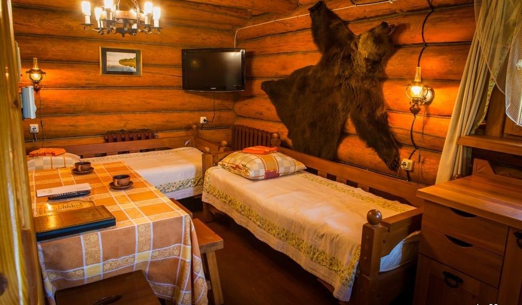 Загородный отель «Волынь» Псковская область Охотничий домик, фото 1