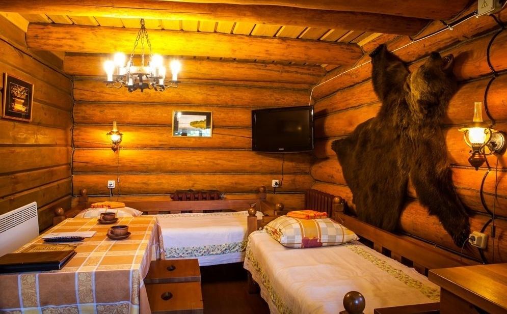 Загородный отель «Волынь» Псковская область Охотничий домик, фото 4