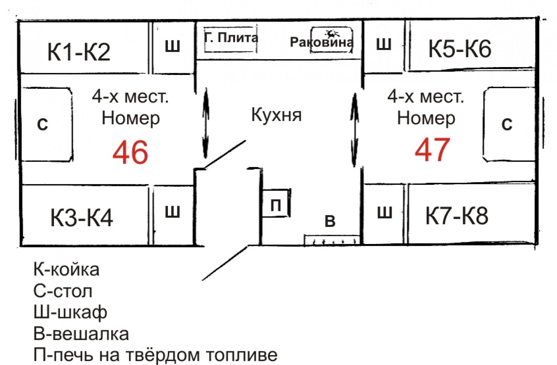 """База отдыха """"Маяк"""" Иркутская область 8-ми местный вагончик №2, фото 1"""