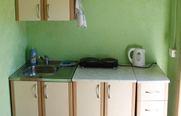 База отдыха «Беретская поляна» Красноярский край Номер 2-местный с телевизором в блокхаусе TWIN/DBL, фото 4