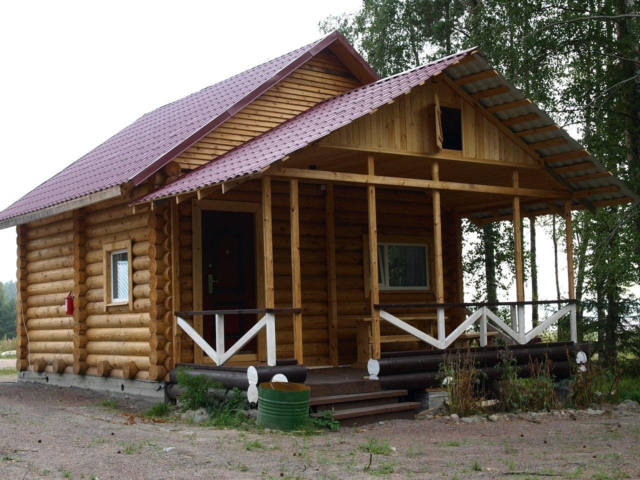 Рыболовная база «Бряус» Республика Карелия 4-местный коттедж, фото 1