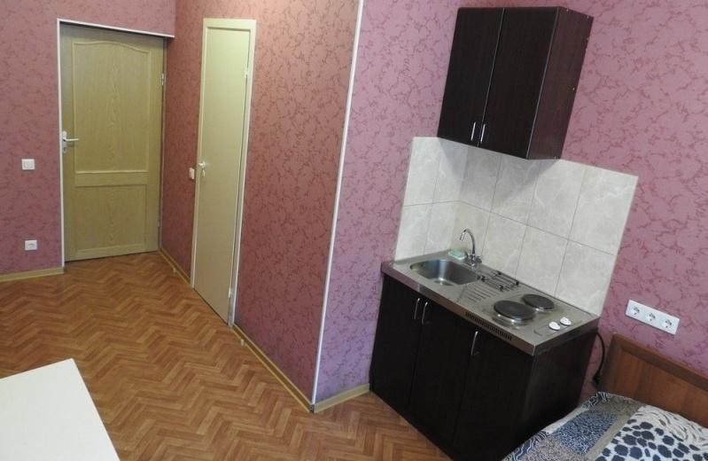 База отдыха «Онега» Ленинградская область Номер «Эконом» 2-местный с кухней (корпус «Балтика»), фото 5